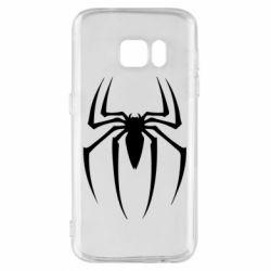 Чехол для Samsung S7 Spider Man Logo - FatLine