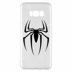 Чехол для Samsung S8 Spider Man Logo - FatLine