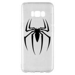 Чехол для Samsung S8+ Spider Man Logo - FatLine