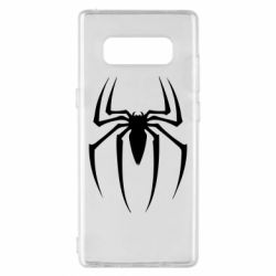 Чехол для Samsung Note 8 Spider Man Logo - FatLine