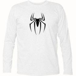 Футболка с длинным рукавом Spider Man Logo - FatLine