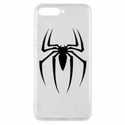 Чехол для Huawei Y6 2018 Spider Man Logo - FatLine