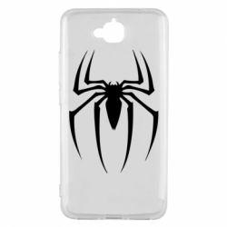 Чехол для Huawei Y6 Pro Spider Man Logo - FatLine