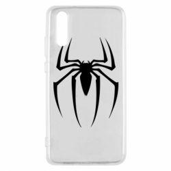 Чехол для Huawei P20 Spider Man Logo - FatLine