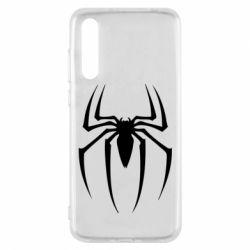 Чехол для Huawei P20 Pro Spider Man Logo - FatLine