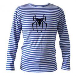 Тельняшка с длинным рукавом Spider Man Logo - FatLine