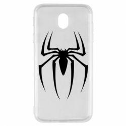 Чехол для Samsung J7 2017 Spider Man Logo - FatLine