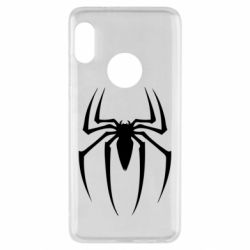 Чехол для Xiaomi Redmi Note 5 Spider Man Logo - FatLine