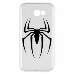 Чехол для Samsung A7 2017 Spider Man Logo - FatLine