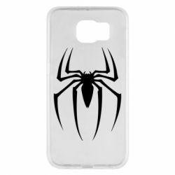 Чехол для Samsung S6 Spider Man Logo - FatLine