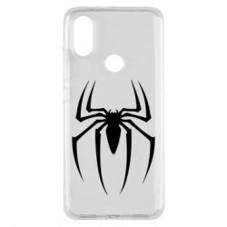 Чехол для Xiaomi Mi A2 Spider Man Logo - FatLine