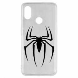 Чехол для Xiaomi Mi8 Spider Man Logo - FatLine