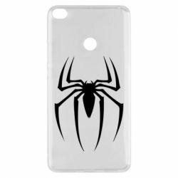 Чехол для Xiaomi Mi Max 2 Spider Man Logo - FatLine