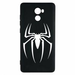 Чехол для Xiaomi Redmi 4 Spider Man Logo - FatLine