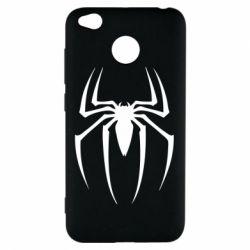 Чехол для Xiaomi Redmi 4x Spider Man Logo - FatLine