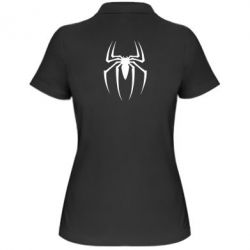 Женская футболка поло Spider Man Logo - FatLine