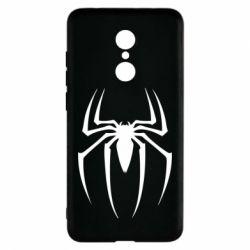 Чехол для Xiaomi Redmi 5 Spider Man Logo - FatLine
