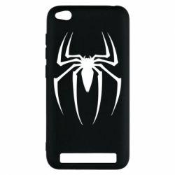Чехол для Xiaomi Redmi 5a Spider Man Logo - FatLine