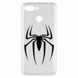 Чехол для Xiaomi Redmi 6 Spider Man Logo - FatLine