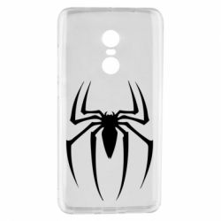 Чехол для Xiaomi Redmi Note 4 Spider Man Logo - FatLine