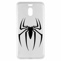 Чехол для Meizu M6 Note Spider Man Logo - FatLine