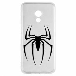 Чехол для Meizu Pro 6 Spider Man Logo - FatLine