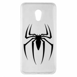 Чехол для Meizu Pro 6 Plus Spider Man Logo - FatLine