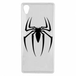 Чехол для Sony Xperia X Spider Man Logo - FatLine