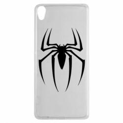 Чехол для Sony Xperia XA Spider Man Logo - FatLine