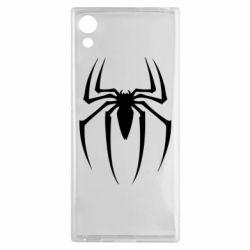 Чехол для Sony Xperia XA1 Spider Man Logo - FatLine