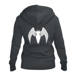 Жіноча толстовка на блискавці Spider venom