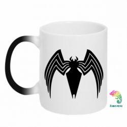 Кружка-хамелеон Spider venom