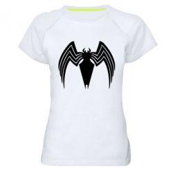 Жіноча спортивна футболка Spider venom