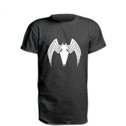 Подовжена футболка Spider venom