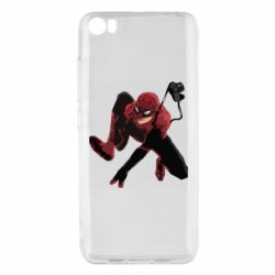 Чехол для Xiaomi Mi5/Mi5 Pro Spiderman flat vector
