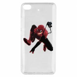 Чехол для Xiaomi Mi 5s Spiderman flat vector