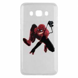Чехол для Samsung J5 2016 Spiderman flat vector