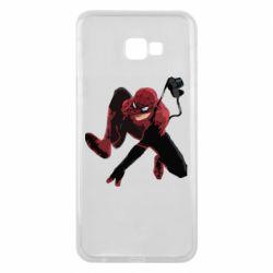Чехол для Samsung J4 Plus 2018 Spiderman flat vector