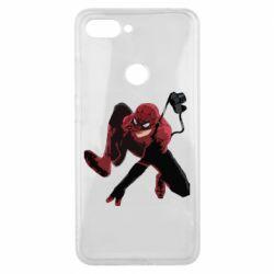 Чехол для Xiaomi Mi8 Lite Spiderman flat vector