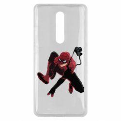 Чехол для Xiaomi Mi9T Spiderman flat vector