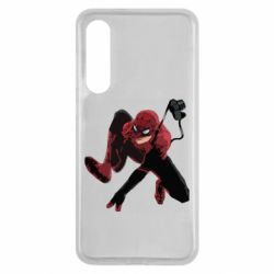 Чехол для Xiaomi Mi9 SE Spiderman flat vector