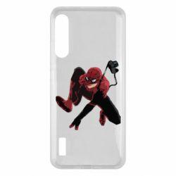 Чохол для Xiaomi Mi A3 Spiderman flat vector