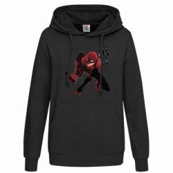 Женская толстовка Spiderman flat vector