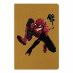 Блокнот А5 Spiderman flat vector
