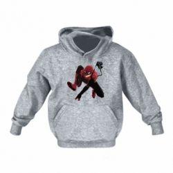 Детская толстовка Spiderman flat vector