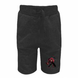 Детские шорты Spiderman flat vector