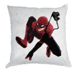 Подушка Spiderman flat vector