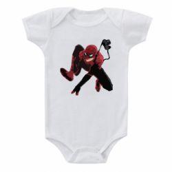 Детский бодик Spiderman flat vector