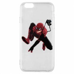 Чехол для iPhone 6/6S Spiderman flat vector