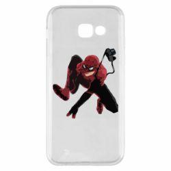 Чехол для Samsung A5 2017 Spiderman flat vector